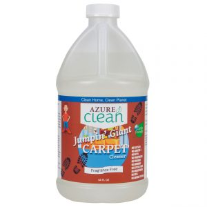 jug of natural enzymatic plant based carpet cleaner
